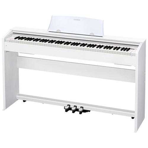 【設置+長期保証】CASIO PX-770-WE(ホワイトウッド調) Privia(プリヴィア) 電子ピアノ 88鍵盤