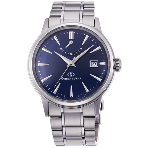 【長期保証付】オリエント RK-AF0004L(ロイヤルブルー) オリエントスター 自動巻き(手巻き付) 腕時計(メンズ)