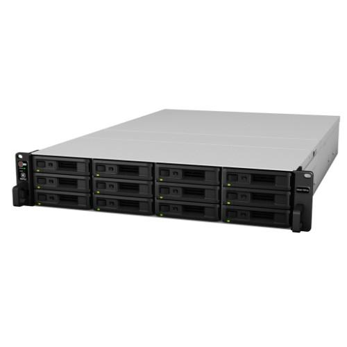 Synology RS3617RPxs(ブラック) RackStation HDDレスモデル 12ベイ