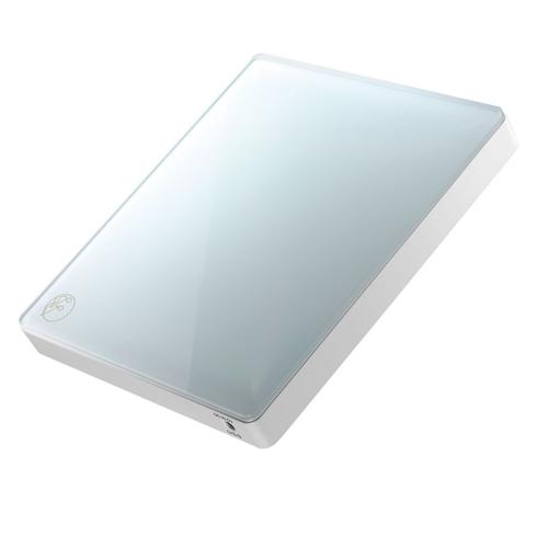 IODATA CDRI-W24AI2BL(アイスグレー) スマートフォン用CDレコーダー