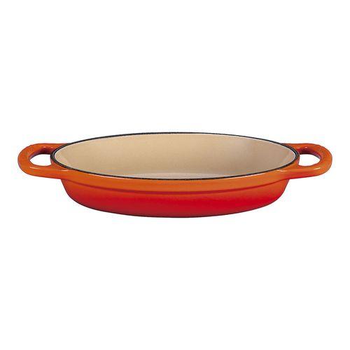 ル・クルーゼ LE CREUSET シグニチャーオーバルプレート 20188 20cm オレンジ APL5103