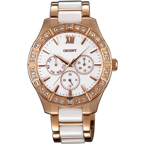 【長期保証付】オリエント SSW01001W0(ホワイト) 海外モデル 日本製 クオーツ 腕時計 レディース