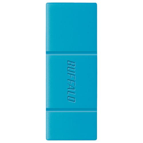 3c575453ee01 バッファロー RUF3-SMA32GA-BL(ブルー) USB3.1メモリ 32GB 人気満点 ...