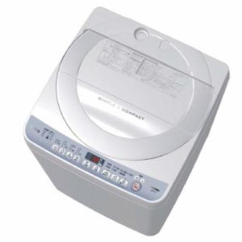 【設置】シャープ ES-T710-W(ホワイト系) 全自動洗濯機 上開き 洗濯7kg