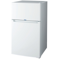 ハイアール JR-N85B-W(ホワイト) Haier Joy Series 2ドア冷蔵庫 右開き 85L