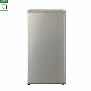 【設置】アクア AQR-8G-S(ブラッシュシルバー) 1ドア冷蔵庫 右開き 75L