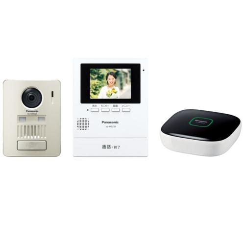 【長期保証付】Panasonic(パナソニック) ワイヤレステレビドアホンキット 壁掛け式 ホームユニット付き VL-SGZ30K
