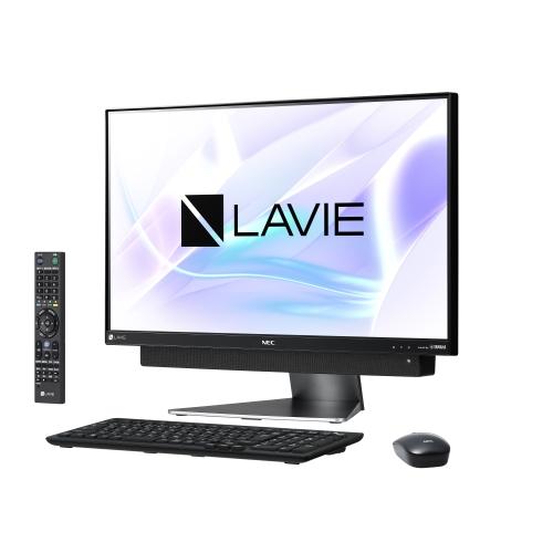 【長期保証付】NEC PC-DA870KAB(ダークシルバー) LAVIE Desk All-in-one 23.8型液晶