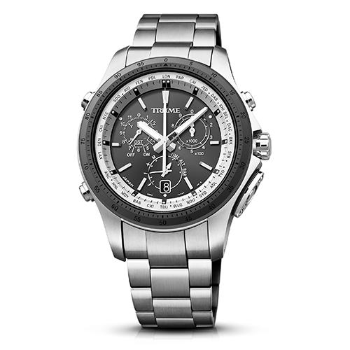 エプソン TR-MB5003(グレー) TRUME ソーラー 腕時計(メンズ)