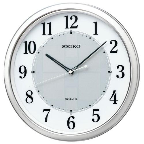 セイコー SF243S ソーラー 電波掛け時計