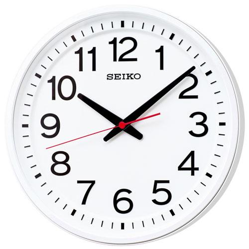 セイコー GP219W オフィスタイプ 衛星電波掛け時計