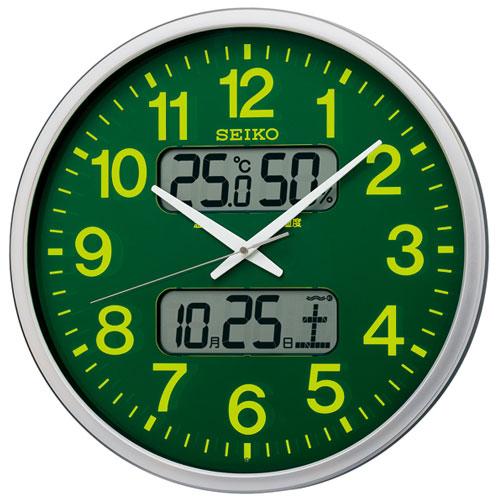セイコー KX237H オフィスタイプ 電波掛け時計