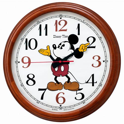 セイコー FW582B ディズニー ミッキー&フレンズ 電波掛け時計