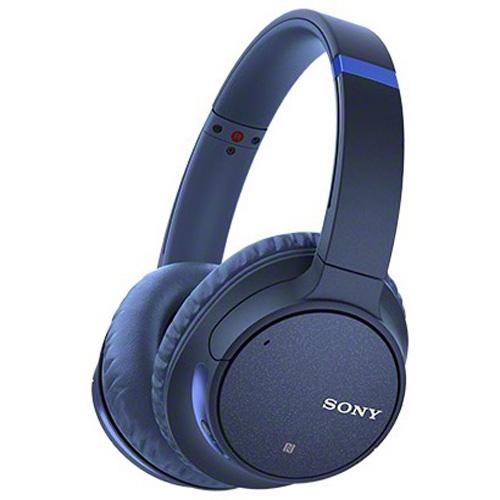 ソニー ヘッドホン ワイヤレスノイズキャンセリングステレオヘッドセット WH-CH700N-L(ブルー) Bluetooth対応