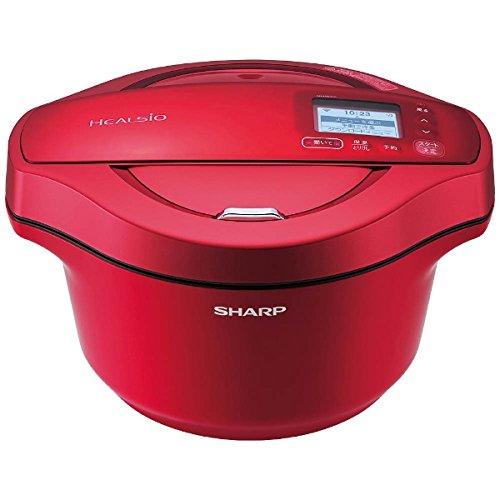 シャープ 水なし自動調理鍋 HEALSiO ヘルシオ ホットクック 2.4LKNHW24C