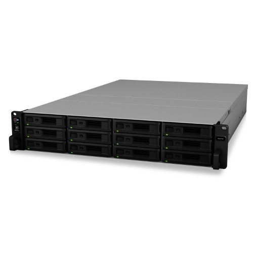 Synology RS2418+(ブラック) RackStation RackStation RS818RP+ HDDレスモデル 12ベイ