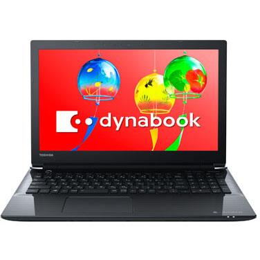 【長期保証付】dynabook PT55GBP-BEA2(プレシャスブラック) dynabookTシリーズ 15.6型液晶
