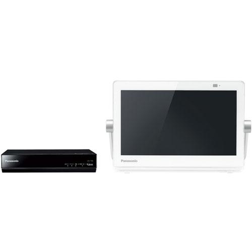 パナソニック UN-10CT8-W(ホワイト) プライベート・ビエラ HDDレコーダー付ポータブルテレビ 10V型