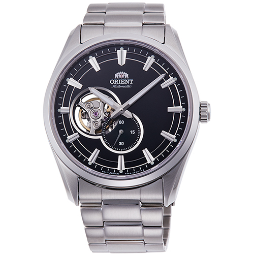 【長期保証付】オリエント RN-AR0001B コンテンポラリーコレクション セミスケルトン 機械式時計 (メンズ)
