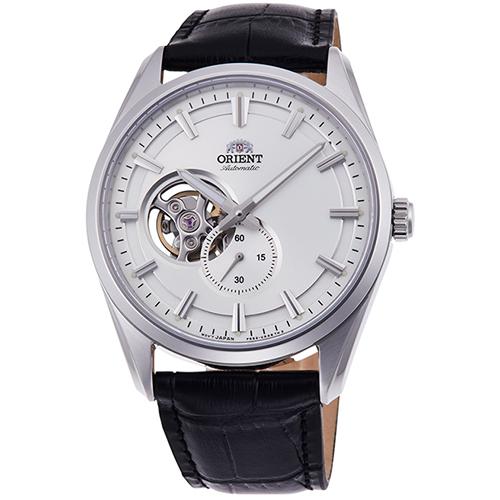 【長期保証付】オリエント RN-AR0003S コンテンポラリーコレクション セミスケルトン 機械式時計 (メンズ)