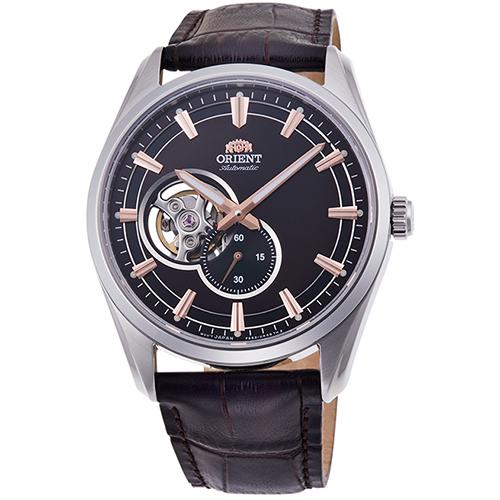 オリエント RN-AR0004Y コンテンポラリーコレクション セミスケルトン 機械式時計 (メンズ)