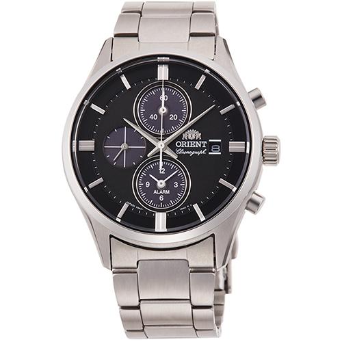 【長期保証付】オリエント RN-TY0003L(ネイビー) コンテンポラリー ライトチャージ 腕時計 メンズ