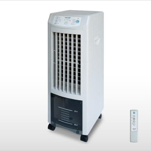 【長期保証付】テクノス TCI-007(ホワイト) リモコン冷風扇風機 テクノイオン搭載 リモコン付