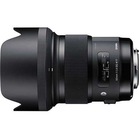 【長期保証付】シグマ 50mm F1.4 DG HSM ソニー用