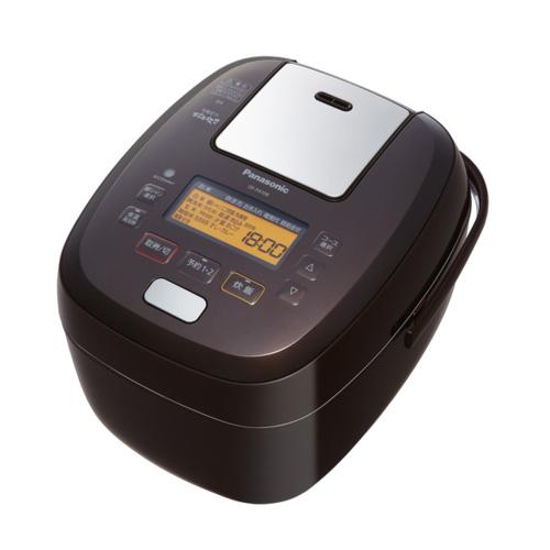 【長期保証付】パナソニック SR-PA108-T(ブラウン) おどり炊き 可変圧力IHジャー炊飯器 5.5合