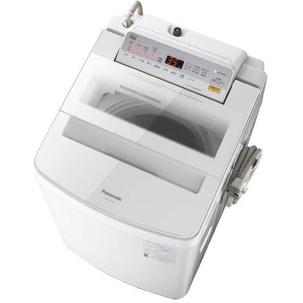 【長期保証付】パナソニック NA-FA100H6-W(ホワイト) 全自動洗濯機 上開き 洗濯10kg