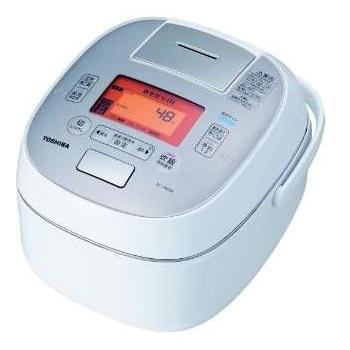 【長期保証付】東芝 RC-10VSM-W(グランホワイト) 合わせ炊き 真空圧力IHジャー炊飯器 5.5合