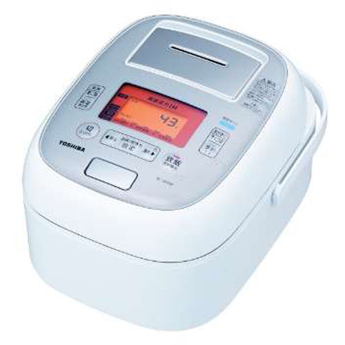 【長期保証付】東芝 RC-18VXM-W(グランホワイト) 合わせ炊き 真空圧力IHジャー炊飯器1升