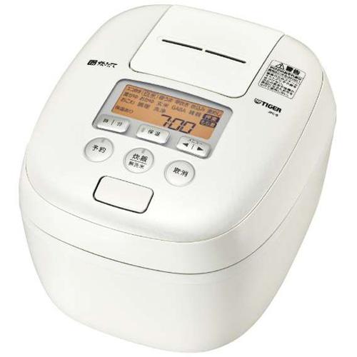 【長期保証付】タイガー魔法瓶 JPC-B102WM(ミルキーホワイト) 炊きたて 圧力IH炊飯ジャー 5.5合