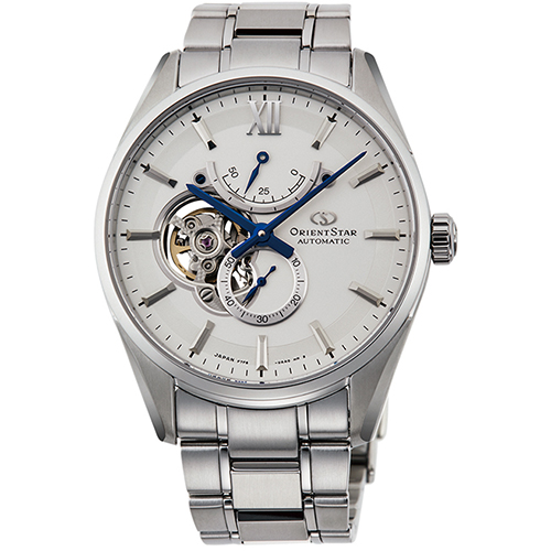 在庫あり 14時までの注文で当日出荷可能 お洒落 長期保証付 オリエント RK-HJ0001S 機械式時計 Star ☆最安値に挑戦 メンズ コンテンポラリーコレクション Orient