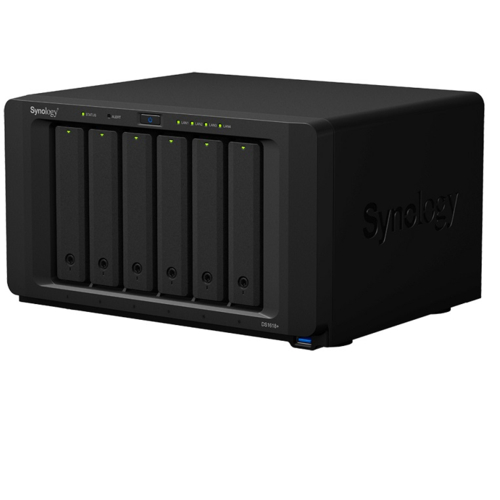 Synology DS1618+ DiskStation HDDレスモデル 6ベイ