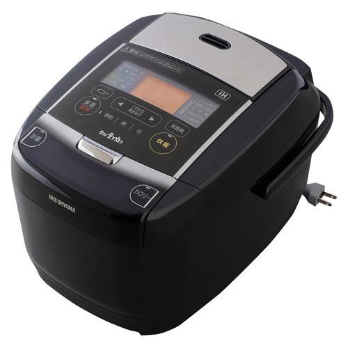 アイリスオーヤマ KRC-IC50-B(ブラック) 銘柄量り炊き IHジャー炊飯器 5.5合