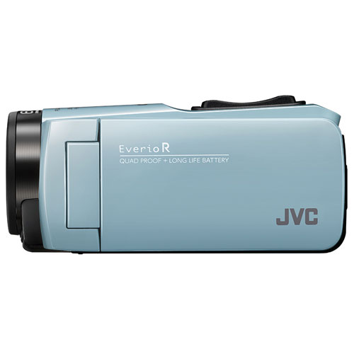 【長期保証付】JVC GZ-RX680-A(サックスブルー) Everio R(エブリオ R) ビデオカメラ 防水モデル 64GB