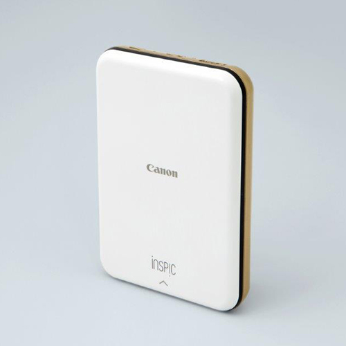 【長期保証付】CANON iNSPiC(インスピック) PV-123-GD(ゴールド) スマホ専用ミニフォトプリンター