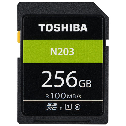 東芝 SD-LU256G SD-LUシリーズ SDXCメモリカード 256GB CLASS10