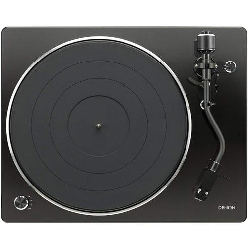 【長期保証付】DENON DP-450USB-BK(ブラック) レコードプレーヤー