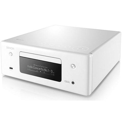 【長期保証付】DENON RC-DN10-W(ホワイト) HEOS対応オールインワン・ネットワークCDレシーバー