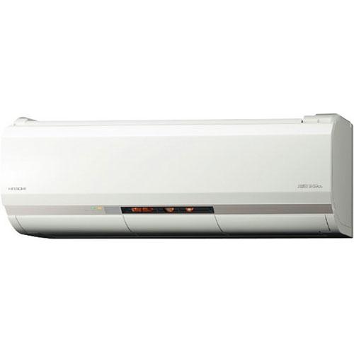 【長期保証付】日立 RAS-XK28J2-W(スターホワイト) メガ暖 白くまくん 10畳 電源200V