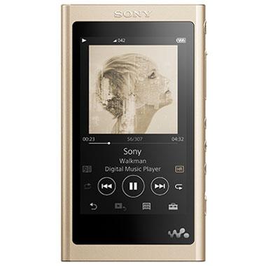 【長期保証付】ソニー NW-A55HN-N(ペールゴールド) ウォークマン 16GB