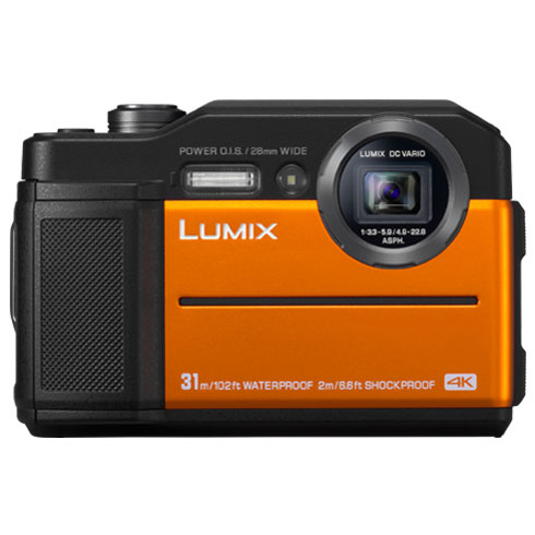 パナソニック LUMIX FT7 DC-FT7(オレンジ)