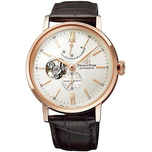 【長期保証付】オリエント RK-AV0001S Orient Star クラシック セミスケルトン 機械式時計 (レディース)