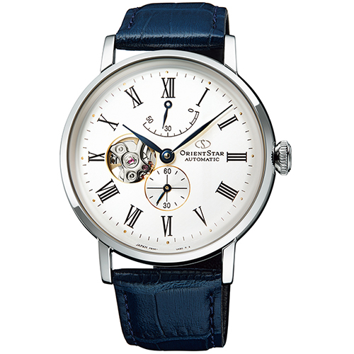 【長期保証付】オリエント RK-AV0003S Orient Star クラシック セミスケルトン 機械式時計 (メンズ)