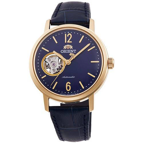 オリエント RN-AG0021L クラシック セミスケルトン 機械式時計 (レディース)