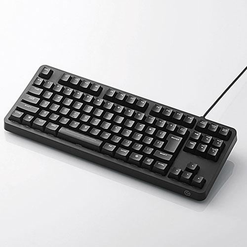 エレコム TK-G01UKBK(ブラック) 有線キーボード 日本語91キー
