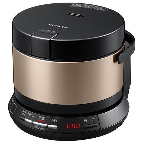 日立 RZ-BS2M-N(ブラウンゴールド) おひつ御膳 IH炊飯器 2.0合