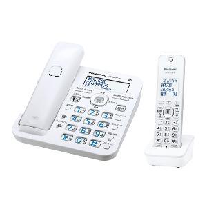 パナソニック VE-GZ51DL-W(ホワイト) RU・RU・RU デジタルコードレス電話機 子機1台付